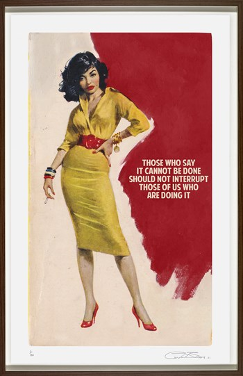 Those Who Say It Cannot Be Done by The Connor Brothers - Framed Silkscreen Limited Edition